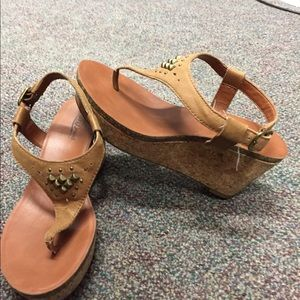 Lucky Brand Brown size 7 sandals